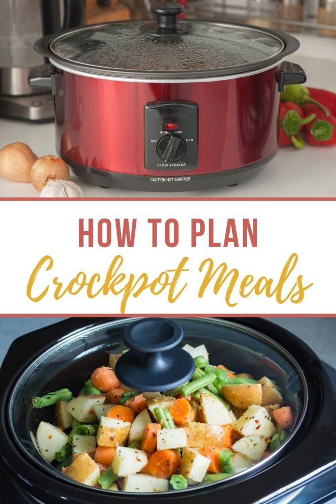 Two crockpots - how to plan crockpot meals