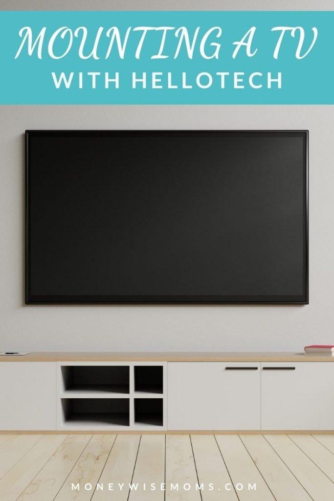 TV mount on wall - Hello Techc reveiw
