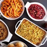 Thanksgiving Side Dishes on table
