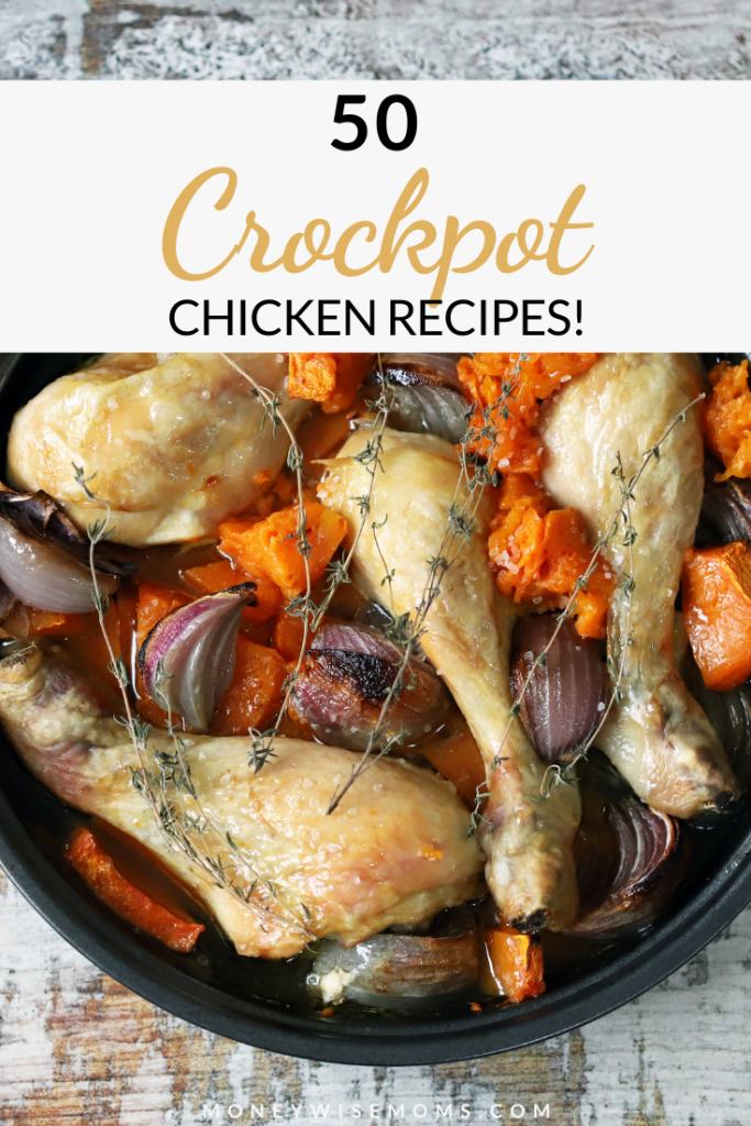 These easy slow cooker recipes for chicken are simple, wholesome, family friendly meals that everyone will love.