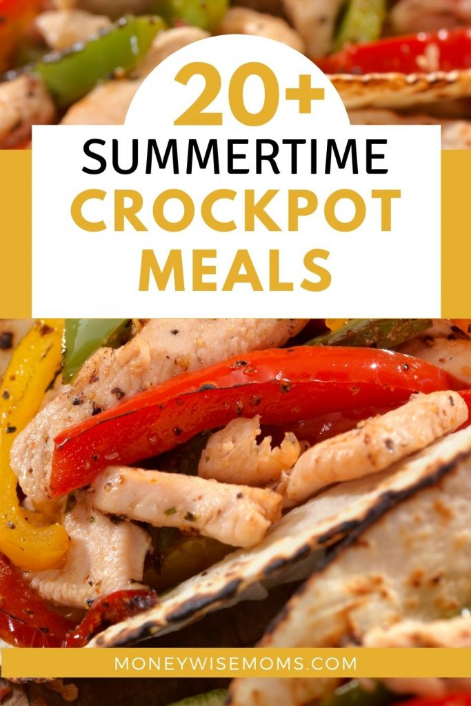 Chicken fajitas and other summer slow cooker meal ideas