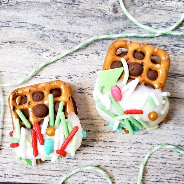 Rolo Holiday pretzels