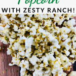 This zesty ranch popcorn recipe is so much fun to make and it's a delicious savory treat that the whole family will love!