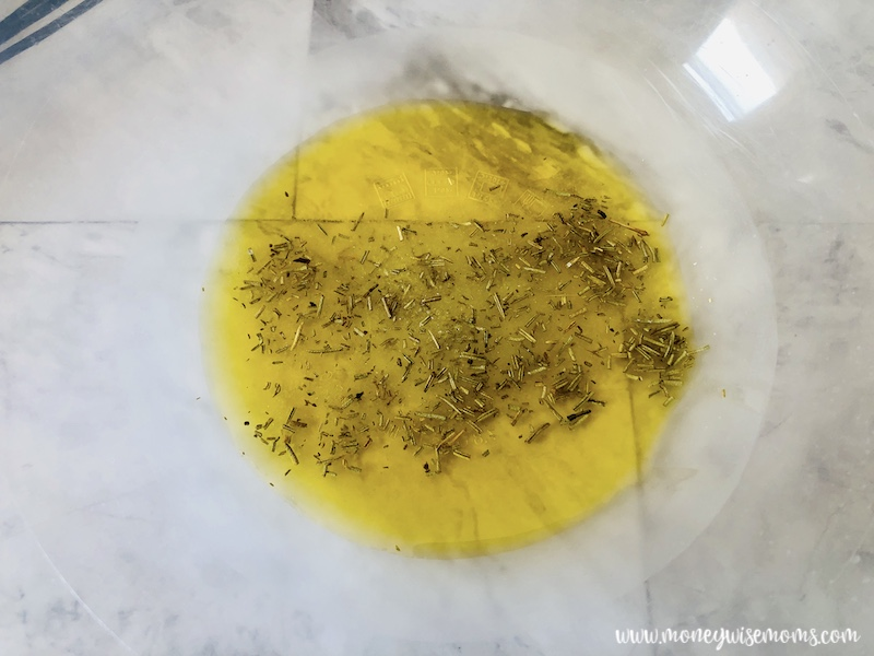 Butter and seasonings ready to be mixed.