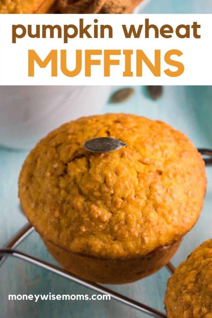 pumpkin wheat muffin