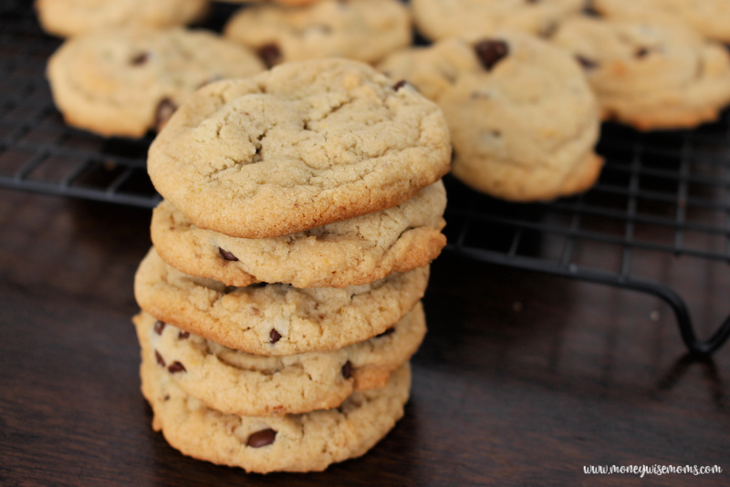 Making these egg free dairy free chocolate chip cookies is fun and easy. These are allergy friendly cookies that everyone can enjoy!