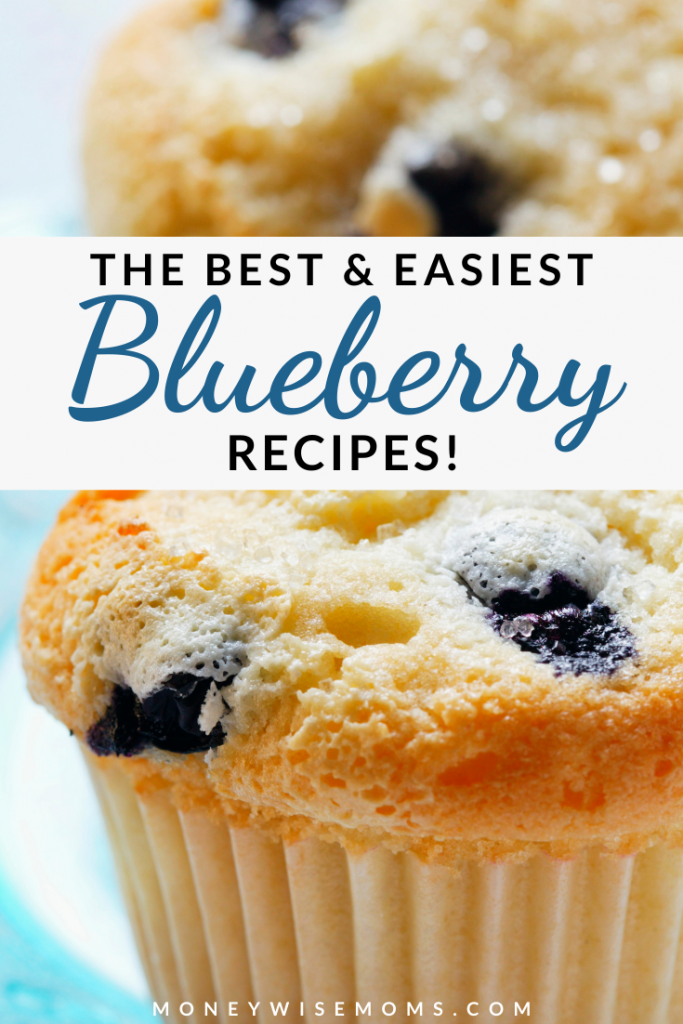 The Best Easy Blueberry Recipes pin