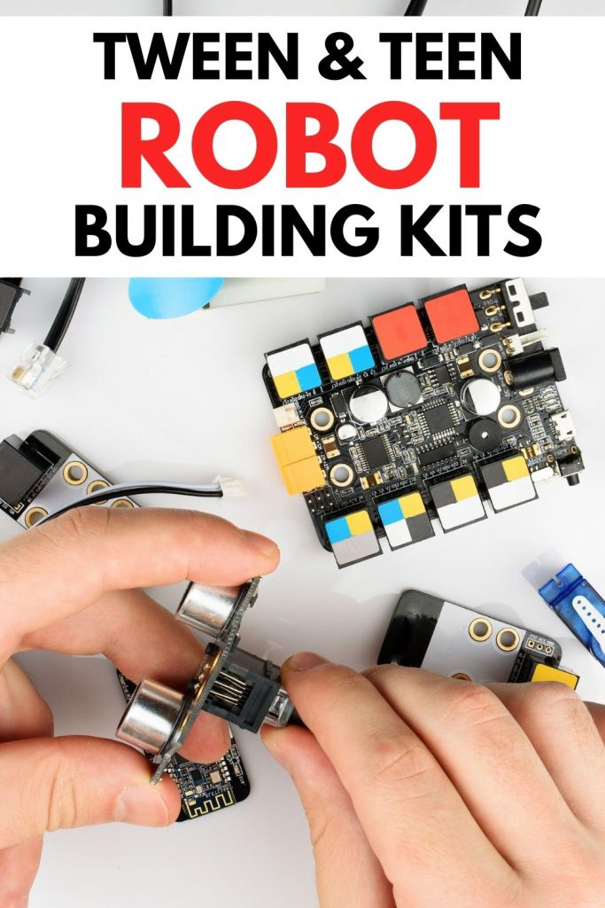 robot kits for teenagers - hands working with computer parts robot building kits