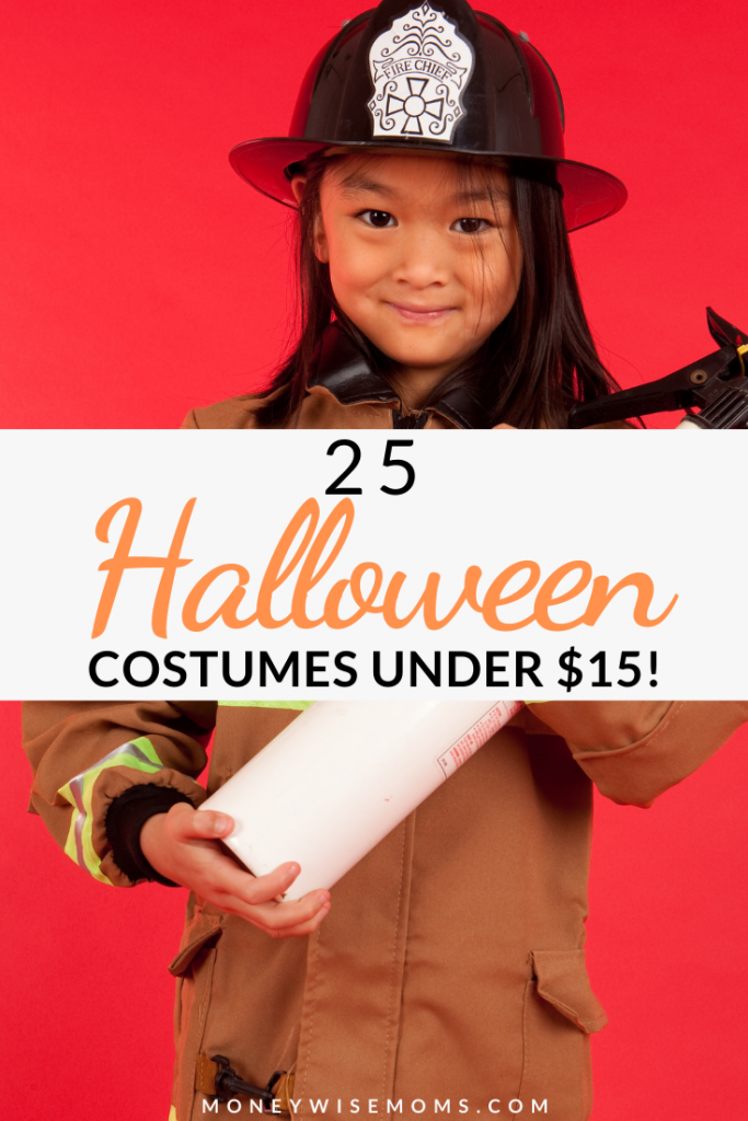 Make it easy on yourself this year and buy one of these Halloween costumes under $15. Great options for baby, toddler, child or adult! Celebrate the Halloween season with your family while staying on budget.  *Updated for 2021!
