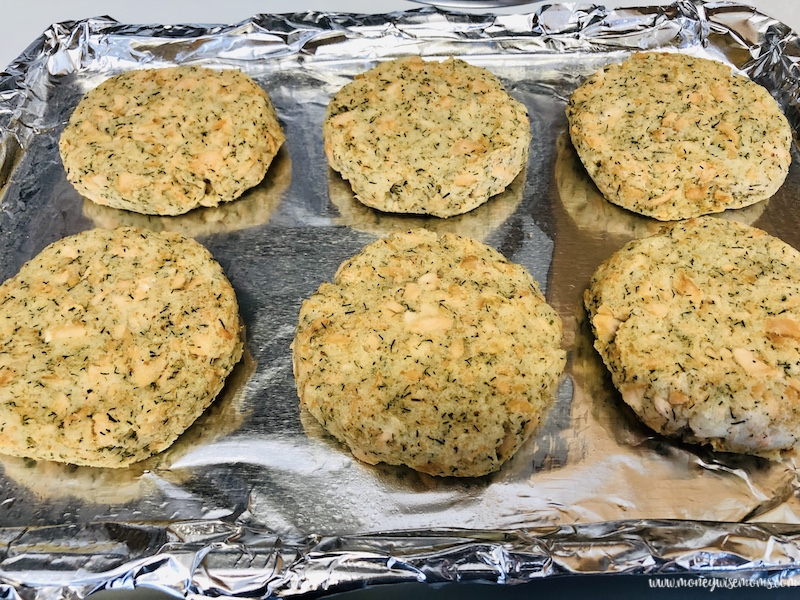formed patties ready to be pan fried.